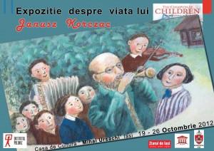 Afis expozitie Janusz Korczac