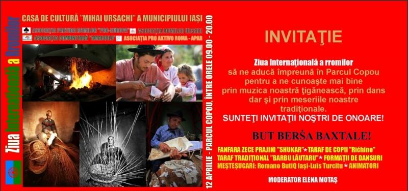 ziua romilor invitatie2