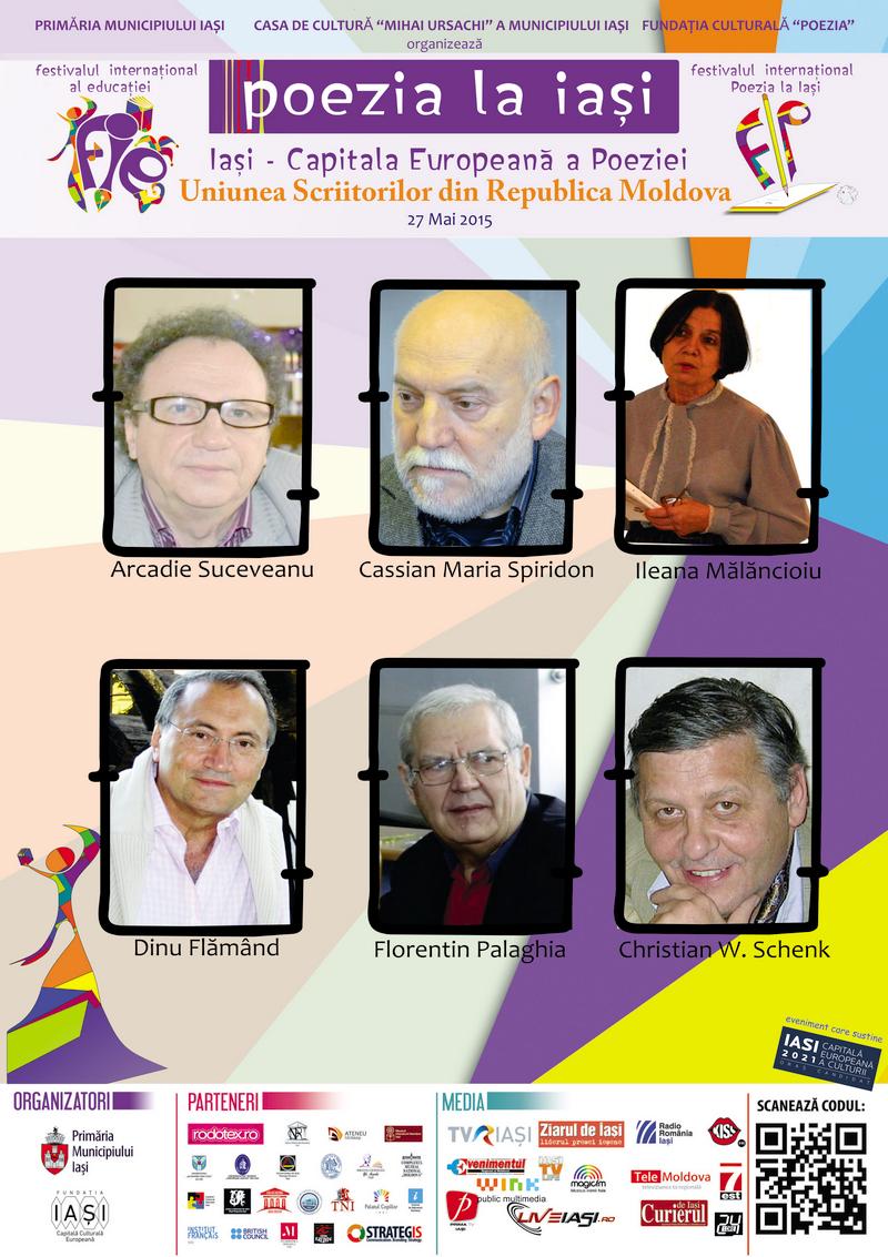Lecturi publice în liceele și universitățile din Chișinău