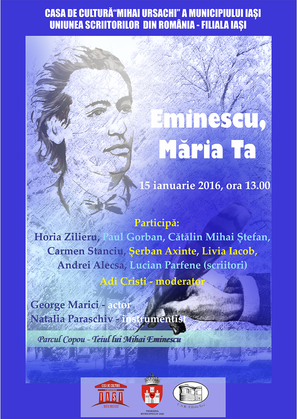 """""""Eminescu, Maria Ta"""""""