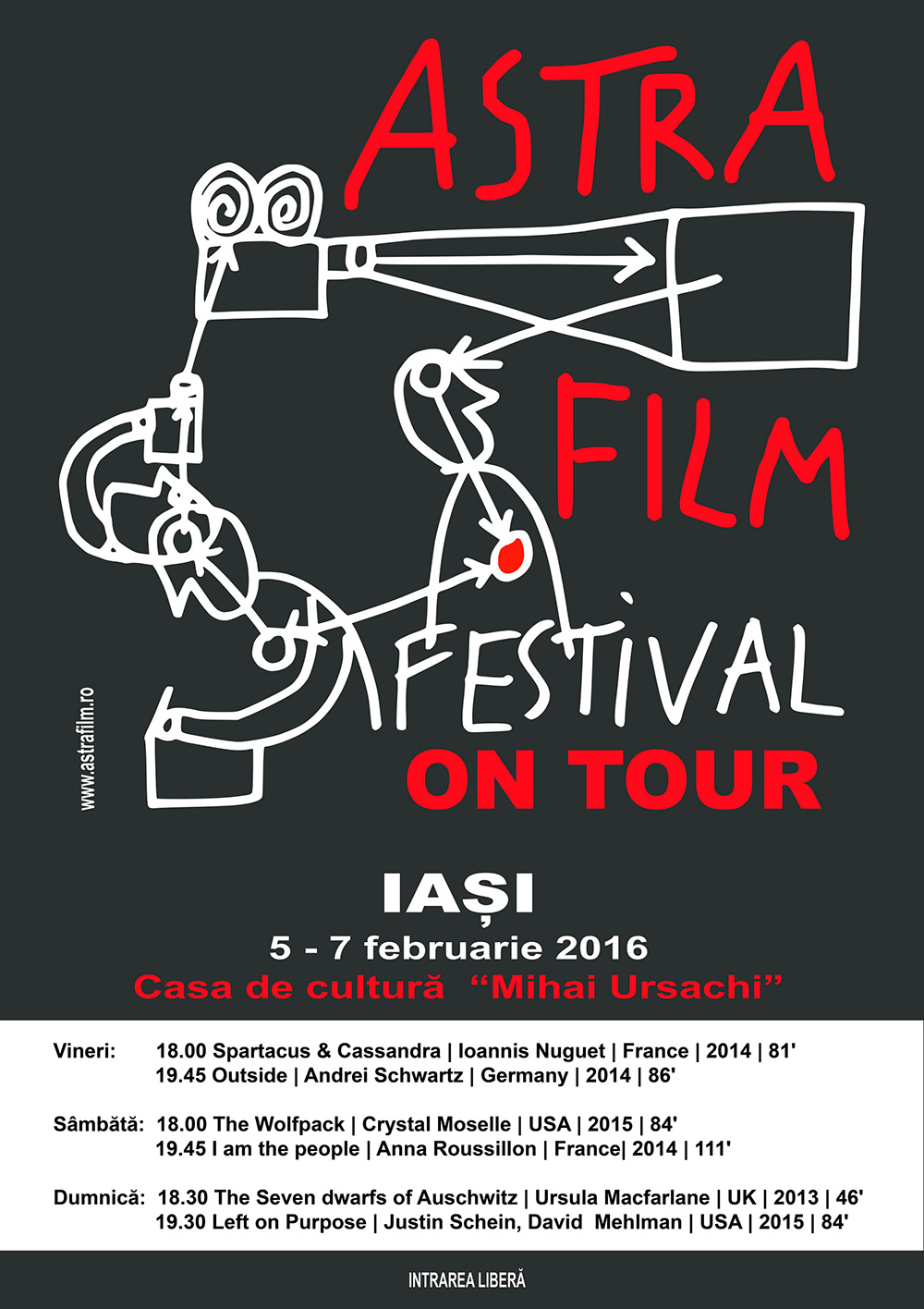 Un weekend de documentare marca Astra Film la Iași!