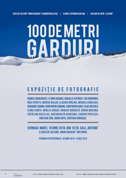100 de metri Garduri - afis-2