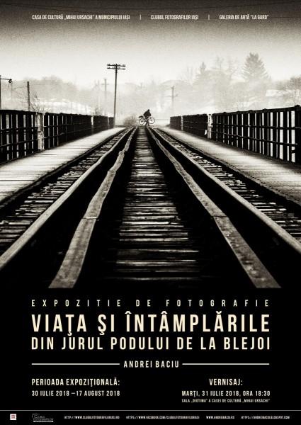 Viata si intamplarile din jurul Podului de la Blejoi - afis - 2