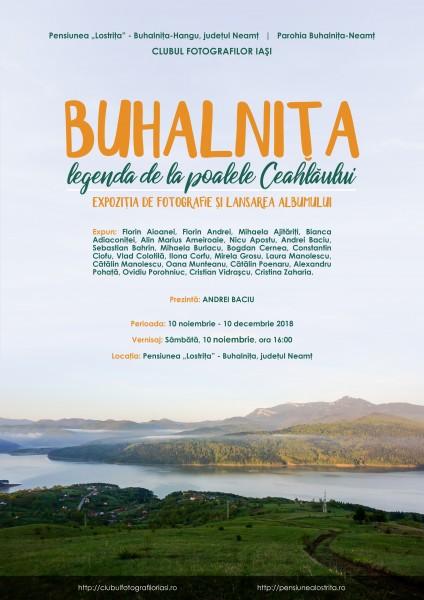 Buhalnita - Legenda de la poalele Ceahlaului - afis